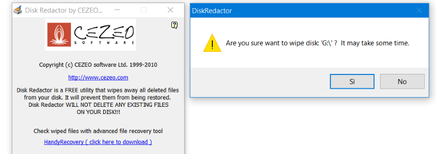 Disk Redactor